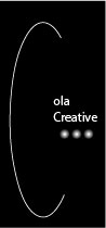 Cola Creative 2_Cola Creative Logo Prototype 2 Black and White